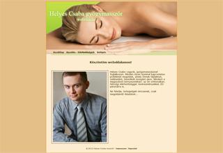 Helyes Csaba weboldala